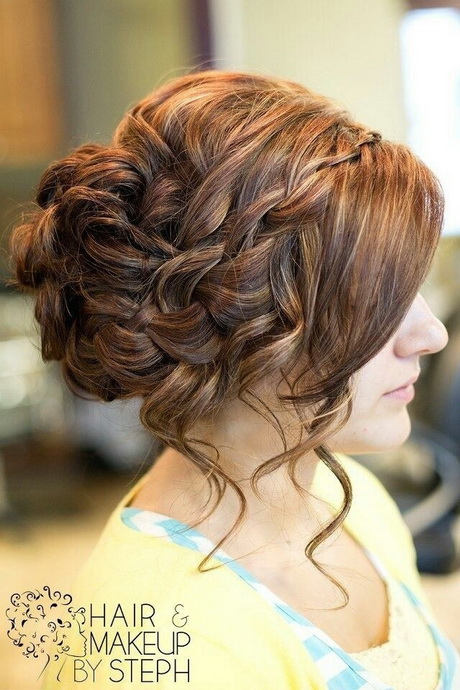 Prom Hairstyles for Long Hair: Twisted Updo…love this for my wedding