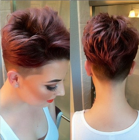 Extremely short haircuts for women