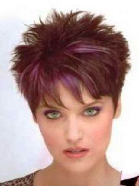 Short Spikey Hair Style For Women Over Short Spiky Hairstyles For
