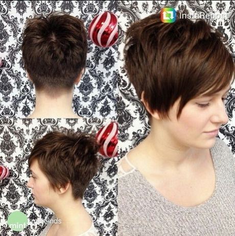 Very Short Haircut for Long Bangs  Women Short Hairstyles 2015