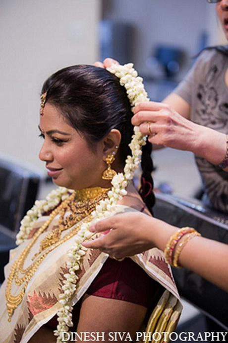 Indian Wedding Bridal Hairstyles Pictures