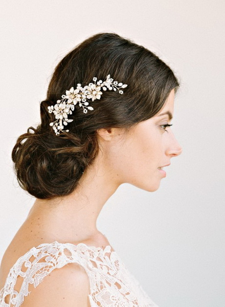 cheap romantic bridal hair accessories