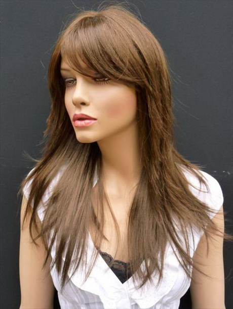 razor long layered hairstyles
