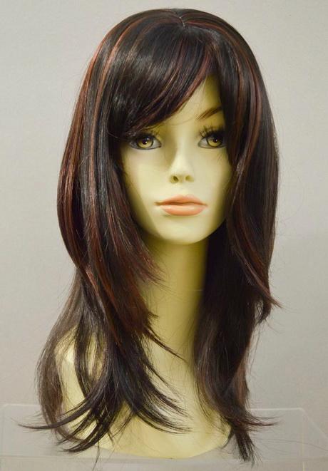 Long Straight Layered Haircut