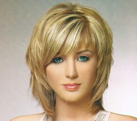 Medium Length Haircuts With Bangs For Women