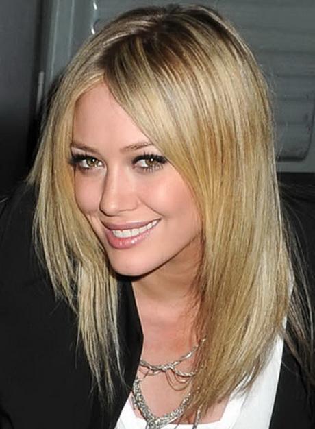 Medium Length Straight Layered Haircuts
