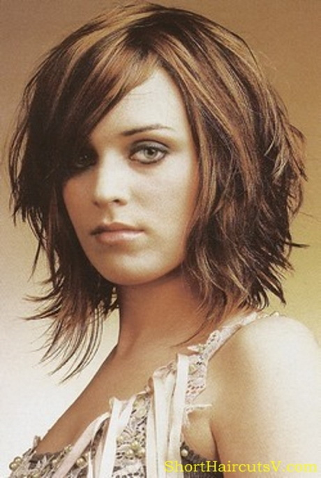 Medium length women haircuts