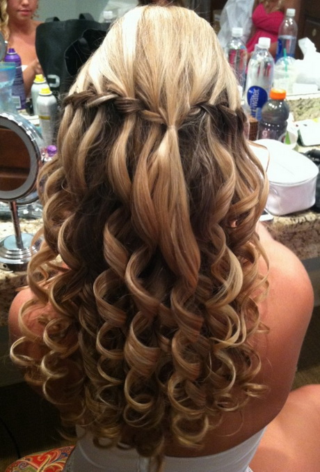 prom 2015 on Pinterest Curly Hair Prom Hairstyles and Messy French ...