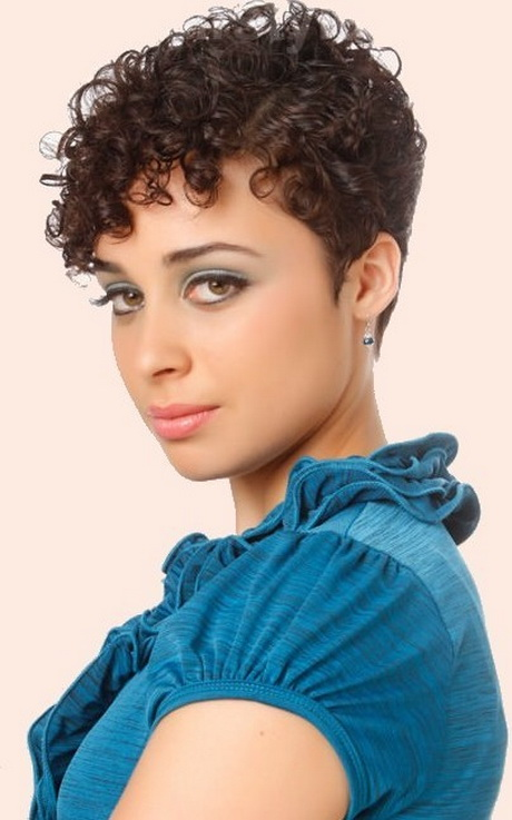 Curly hairstyles for short hair short pixie hairstyle