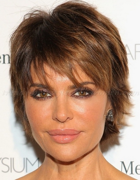 Short haircuts for women over 50 in 2015