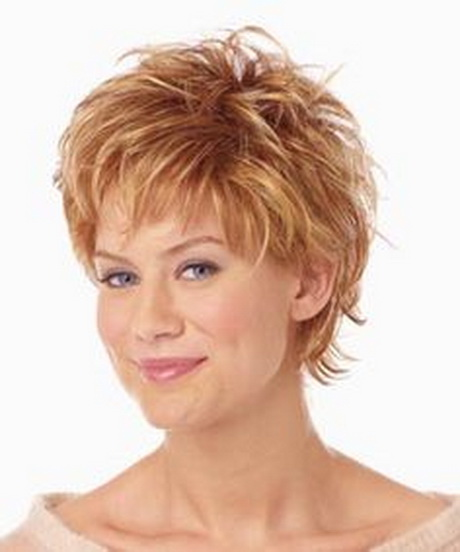 short hairstyles women over - photo #22