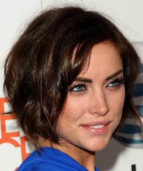 Celebrity Short Hairstyles For Dark Brown Hair