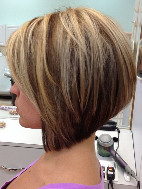 2014 stacked bob haircut for straight hair popular haircuts