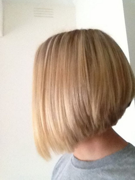 stacked bob haircuts back view Medium Length Stacked Bob Hairstyles ...