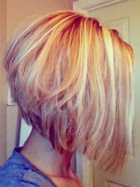 more medium length stacked haircuts medium length stacked hairstyles ...