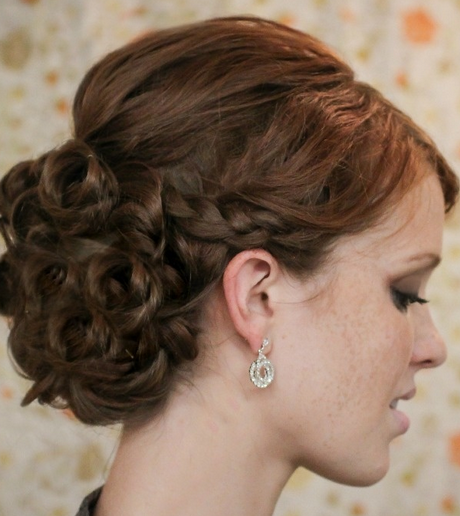 Braid Curl Wedding Hair: Wedding Hair With Braids And Curls