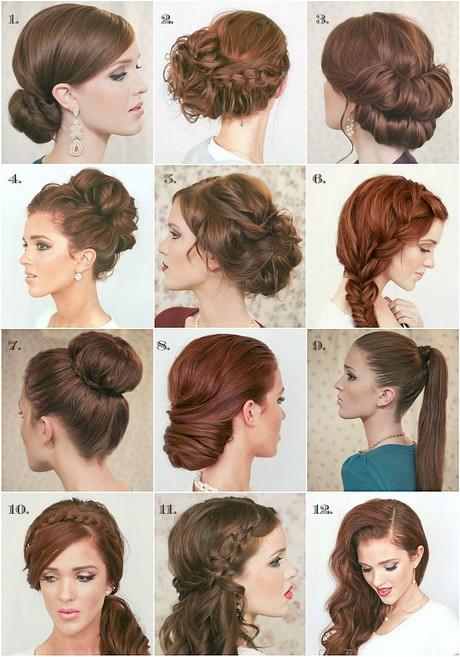 Quick Easy New Years Eve Hair Styles Polyvore LONG HAIRSTYLES
