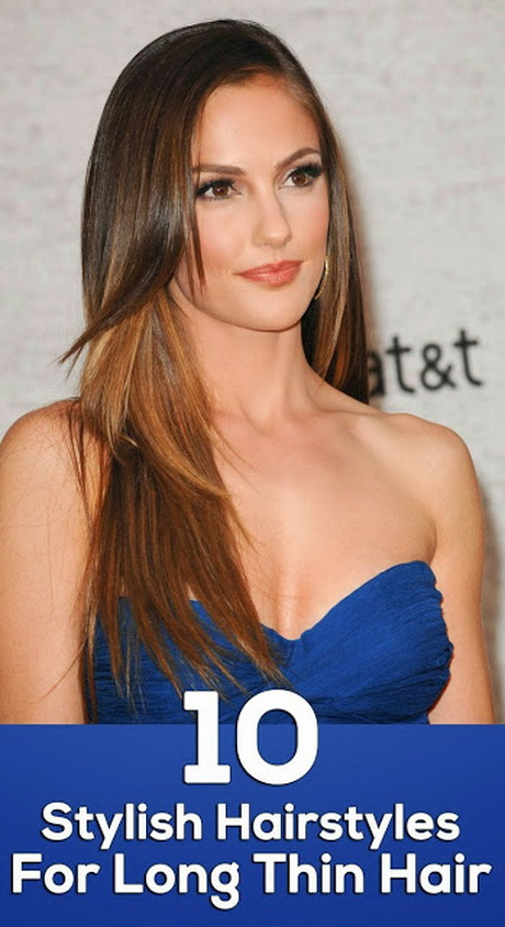 Hairstyle Long Thin Hair : ... For Long Thin HairSofia Vergara Layered Hairstyles Style Hair Prom