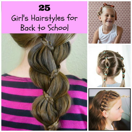 7 Hairstyles For School