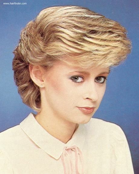 Short Choppy Layered Hairstyles additionally 80s Hairstyles Short Hair ...