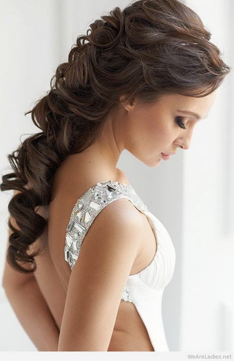 Hairstyles 1 Shoulder Dress