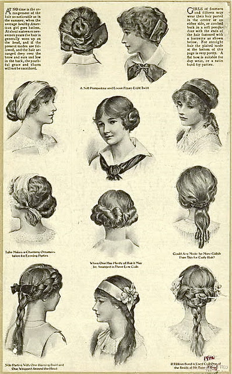 1920s black hairstyles : 1900 hairstyles: Google Search Gibson Girls 1900S Hairstyles Girls ...