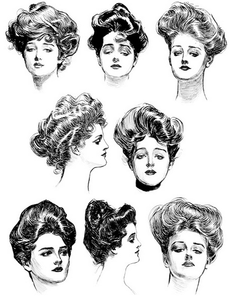 early 1900s hairstyles hairstyles 1900