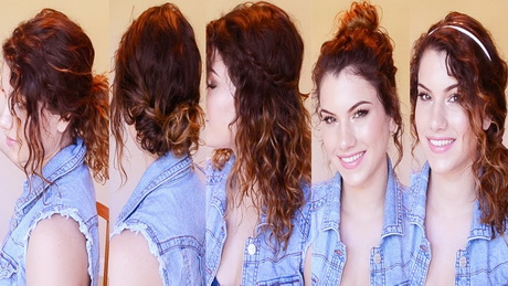 hairstyles 4 curly hair
