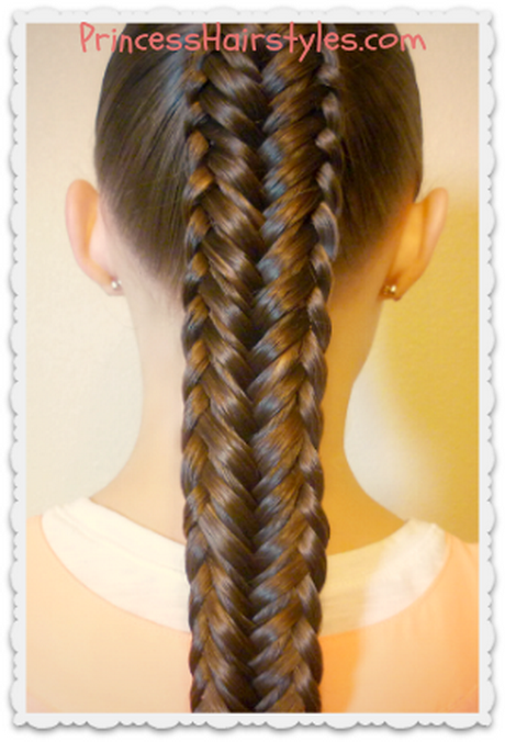 Hairstyles 4 my princess for Fish tail hair
