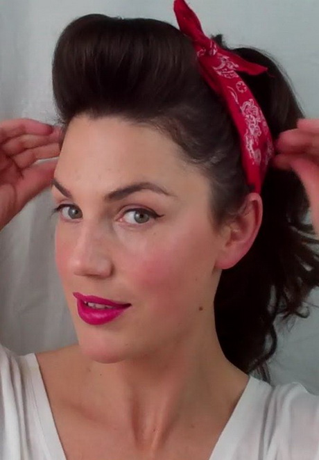 ... hairstyles – Google Search: Pin Up Makeup Retro Hair Vintage Hair
