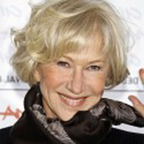 Short Hairstyles for Women Over 60 Years Old with Fine Hair
