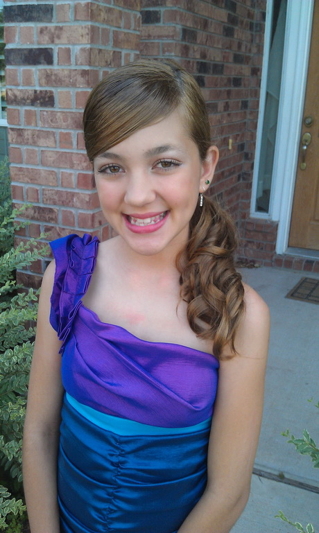 Hairstyles For Eighth Grade Dance : Hairstyles th grade dance