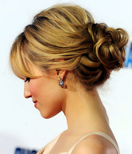 how to make a bun with short thick hair