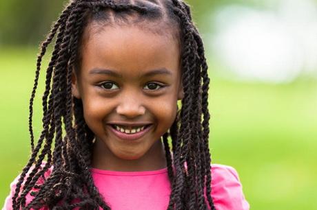 Hairstyles African American Girls