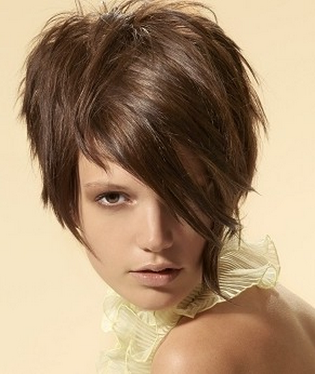 Hairstyles classic wedge