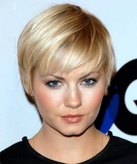 Short Hairstyles For Fat Faces With Double Chins | Short Hairstyle ...