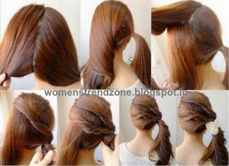 New Easy Hairstyles For Girls To Do At Home  HairStyles Collection
