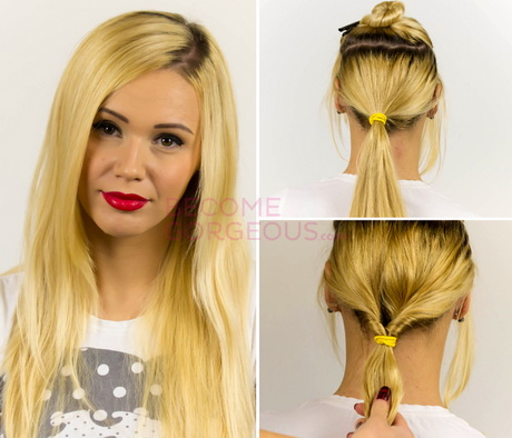 Brilliant Easy Updos For Straight Hair