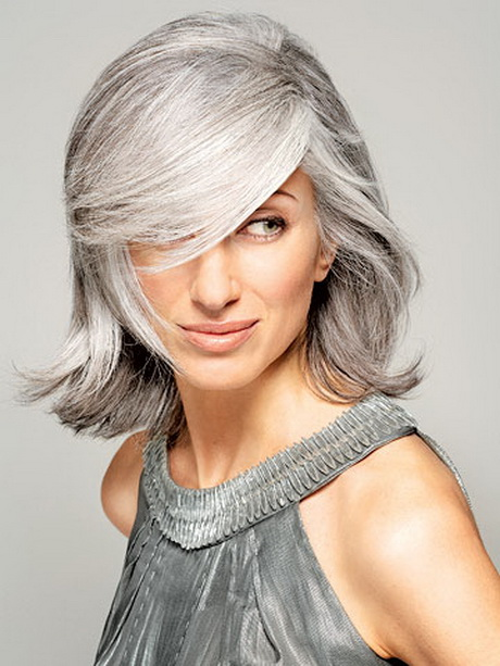 Cool Short Hair Styles For Gray Hair
