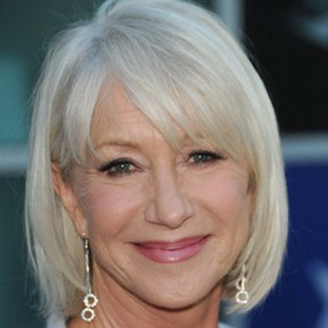 Hairstyles helen mirren - Hairstyles For 60 Year Old Woman With Fine Hair