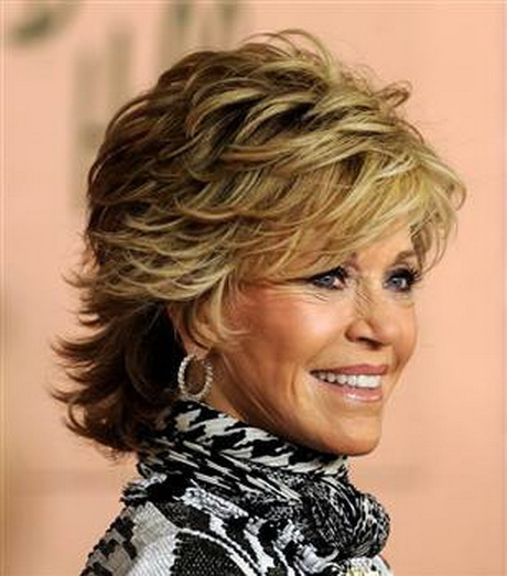 26 of the Most Amazing Shag Hairstyles Razor Cuts Jane Fonda and ...