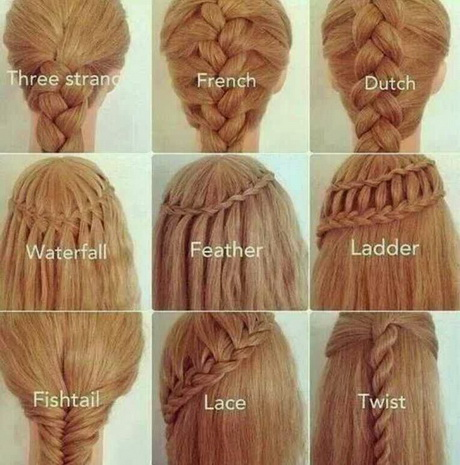 easy hairstyles with braids and a link to each so you can do it