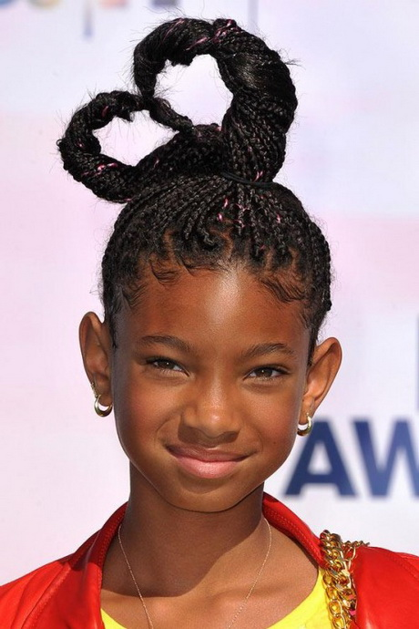 Hairstyles kids can do - Black Girl French Braid Hairstyles