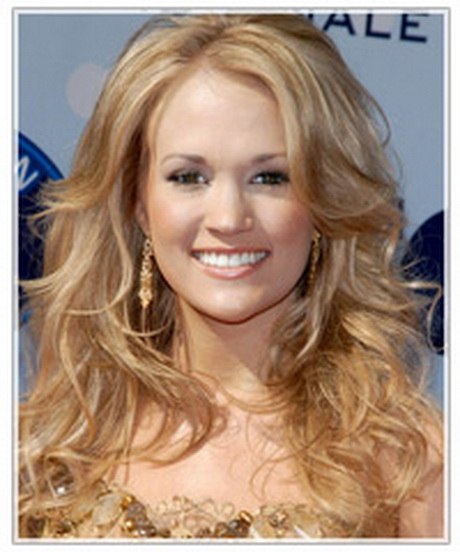 oblong face hairstyles men : For both of these hairstyles all Carrie has done is added loose waves ...