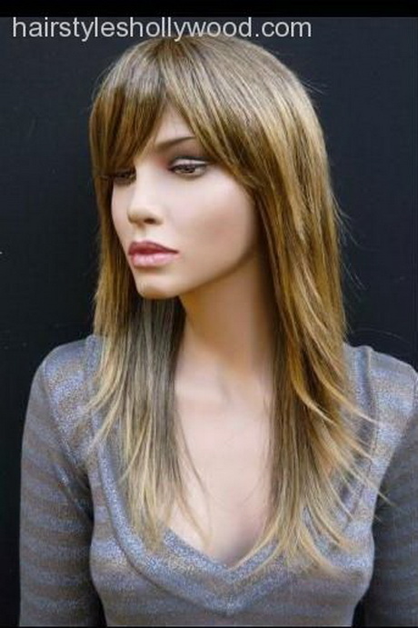 Hairstyles razor cut layers