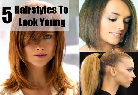 Hairstyles To Look Younger