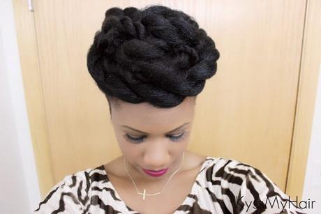 Hairstyles using braiding hair