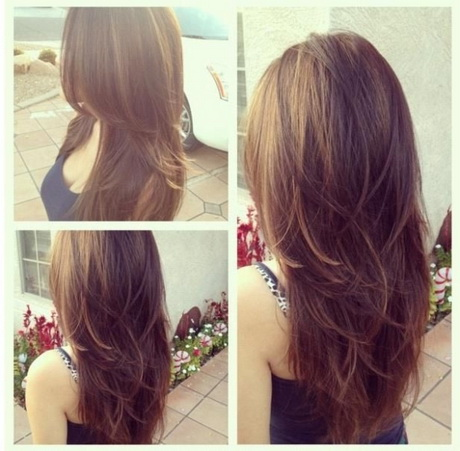 Hairstyles V Cut Long Hair