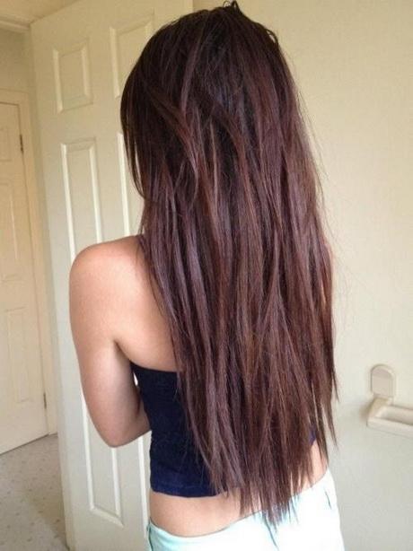 Hairstyles v shape