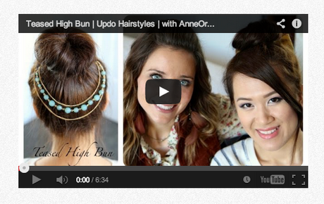 Hairstyles youtube